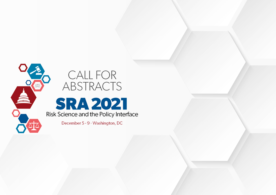 Society for Risk Analysis abstracts 2021